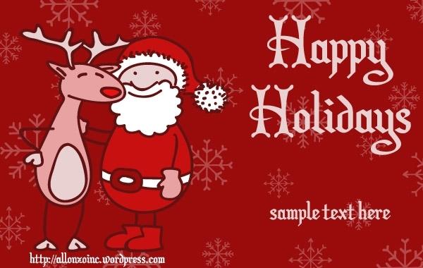 Free Christmas Greeting Card 5