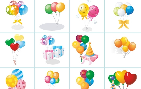 Free Balloon Set
