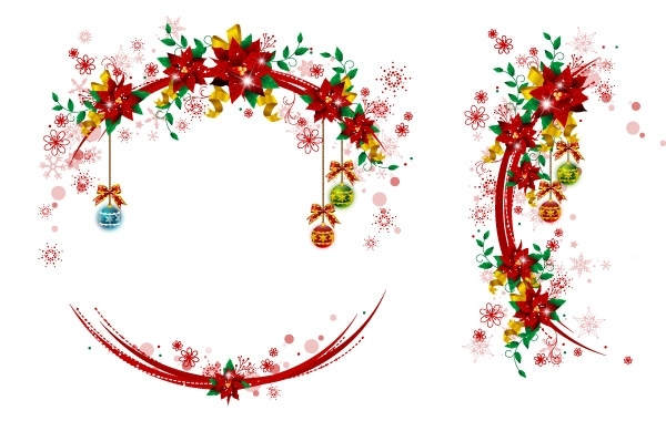 Free Christmas Wreaths 3