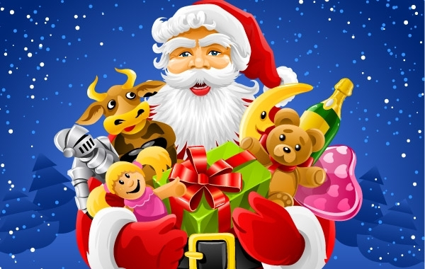 Free  Christmas Santa Claus