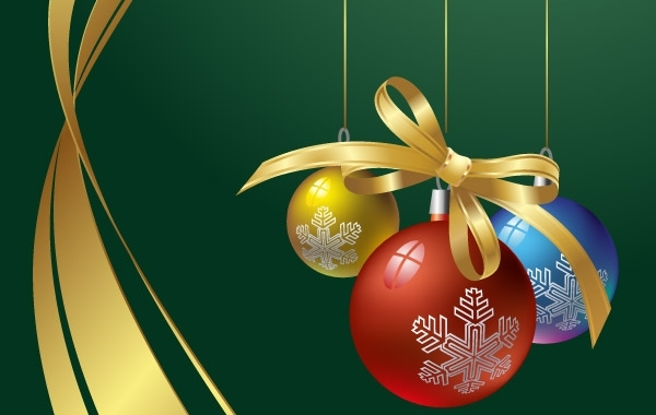Free Decorative X-mas Background
