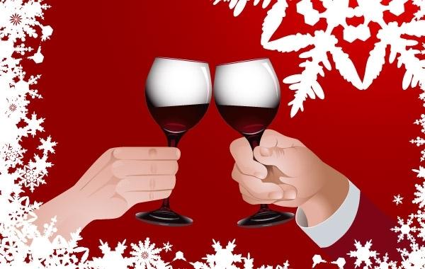 Free Christmas toast