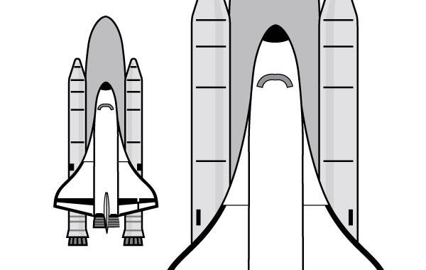 Free Vectors: Space Shuttle clip art | OCAL