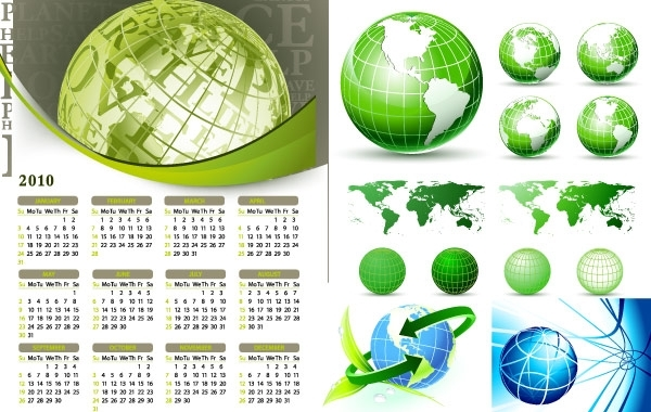Free EARTH THEME VECTOR