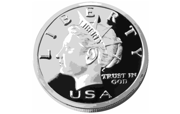 Free 25CENTS 2 USA COIN