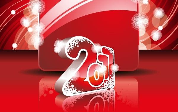 Free 2011 NEW YEAR WALLPAPER