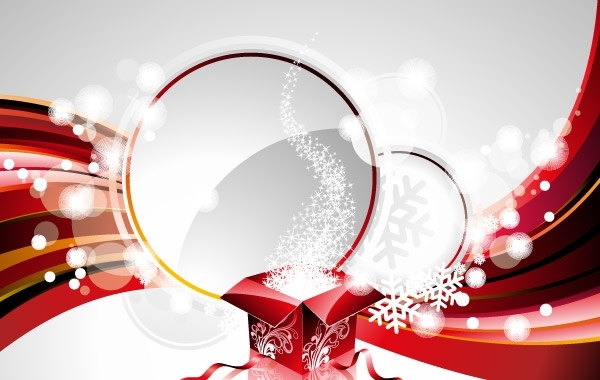 Free New Year Vector Background Design Element 2