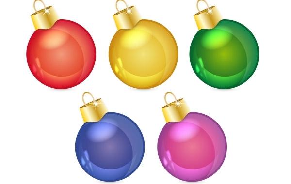Free christmas balls