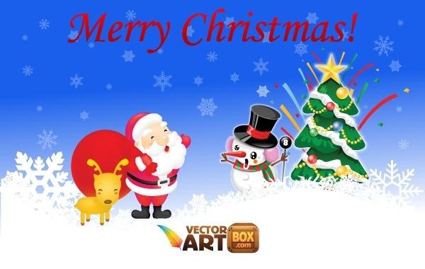 Free Free Christmas Vectors