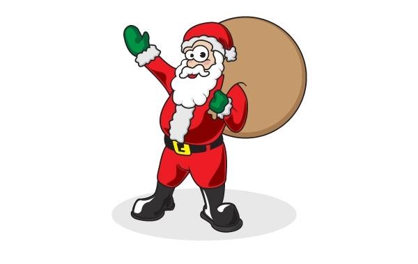 Free Free Santa Vector
