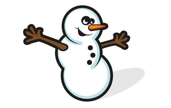 Free Free Snowman Vector