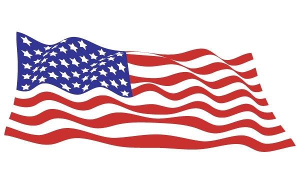 Free Sample file from USA flags vector pack