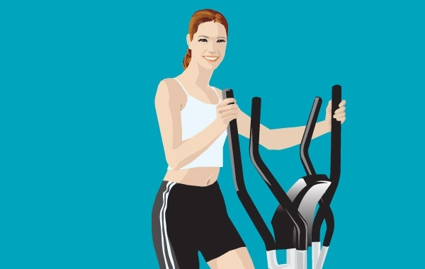 Free Fitness vector 2