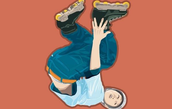Free Roller skate vector 1