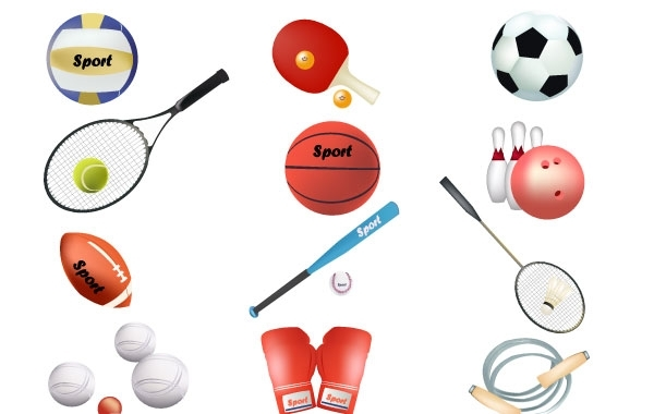 Free Free sports vector equipment