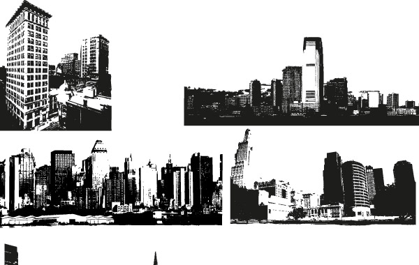 Free City Skyline Vector Images