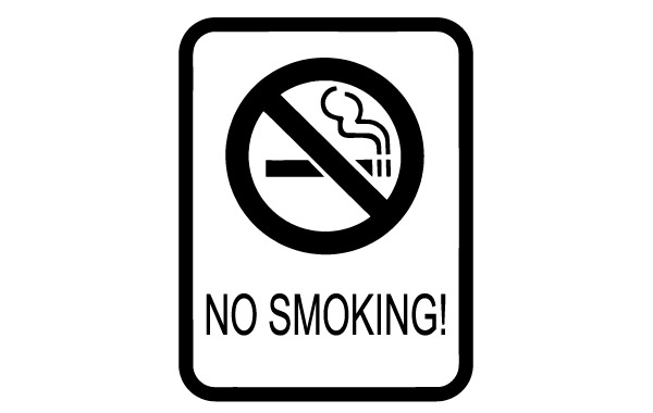 Free No Smoking Sign clip art