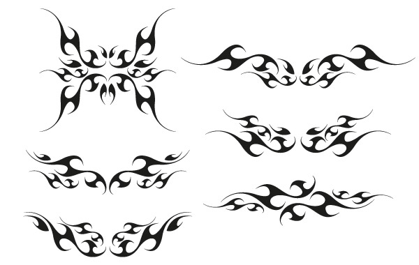 Free Vector tribal wings