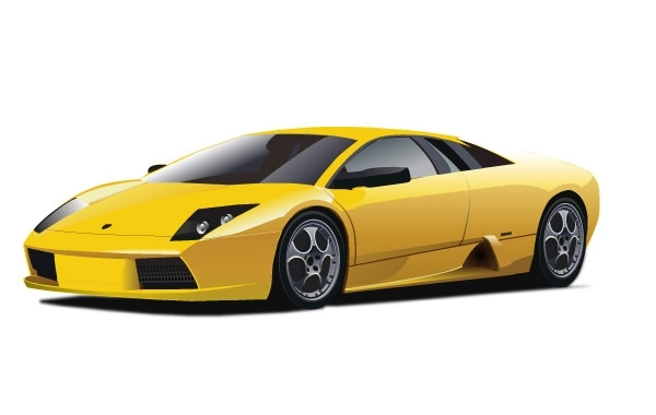 Free Yellow Lamborghini