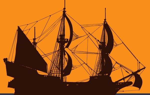 Free Pirate Ship Vector