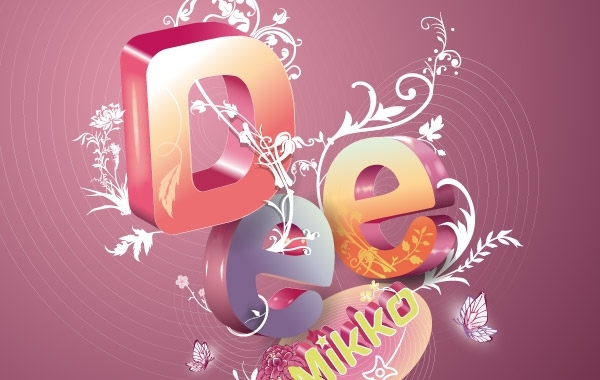 Free Gorgeous Letter Composition