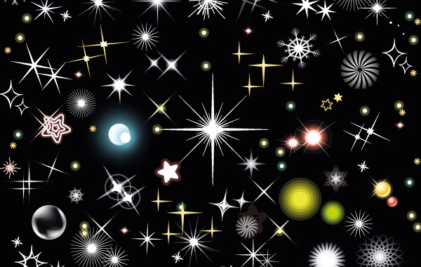Free Stars free vector