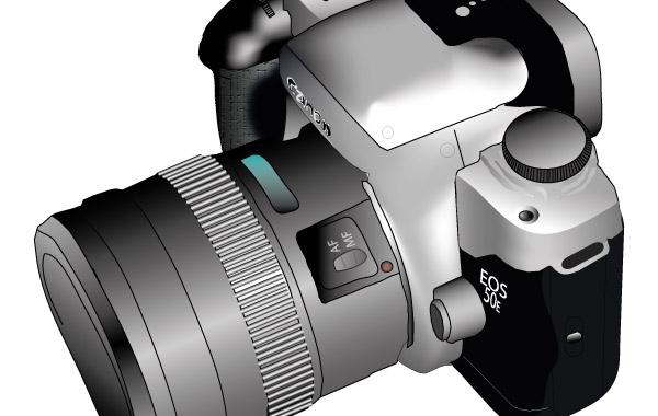 Vector Camera, Top View