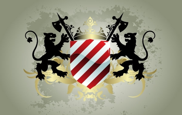 Free Medieval heraldic shield