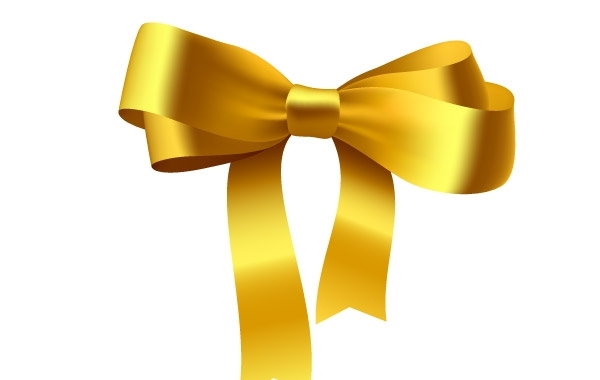Free Yellow Ribbon Bow