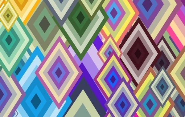 Free Free vector wallpaper -Diamond