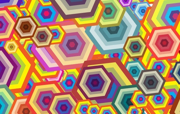 Free Free vector wallpaper - Polygon