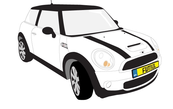 Free Vectors: Mini Cooper S | asuarch