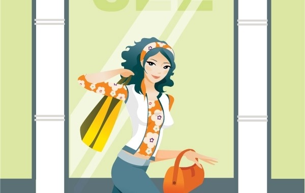Free Shopping girl 1