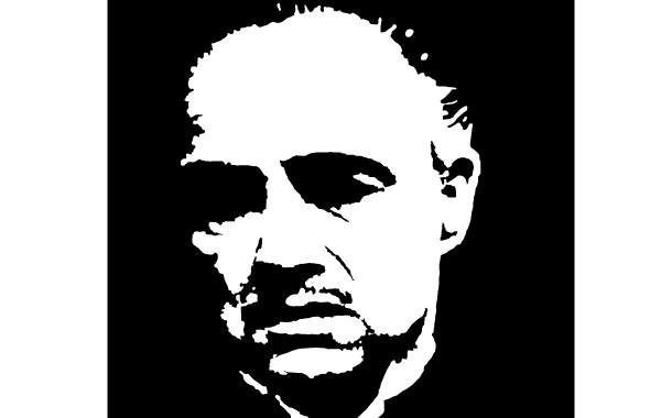 Free GODFATHER MARLON BRANDO VECTOR