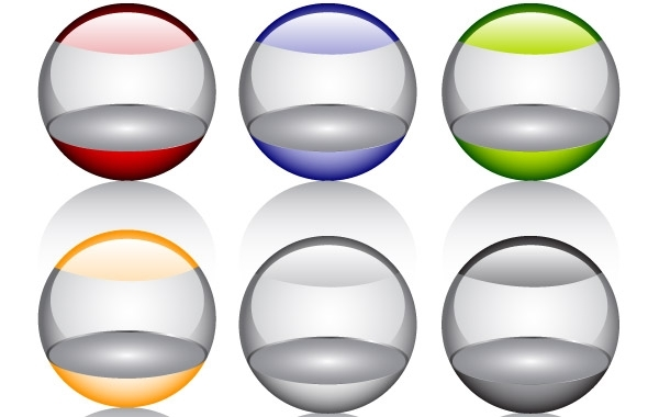 Free Free Glossy orbs Vector Icon