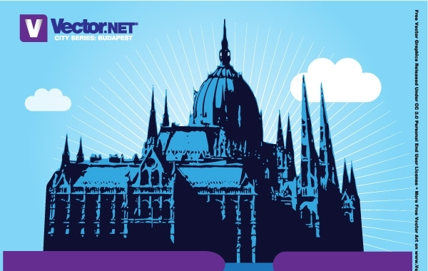 Free Budapest Parliament Vector