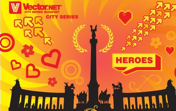 Free Budapest Heroes Square Vector