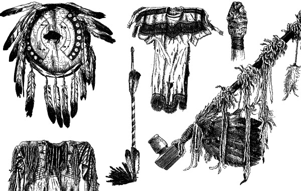 Free Native American Object Vectors