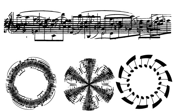 Free Sheet Music Note Vectors- Free