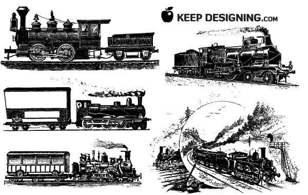 Free 10 Train Vector Graphics
