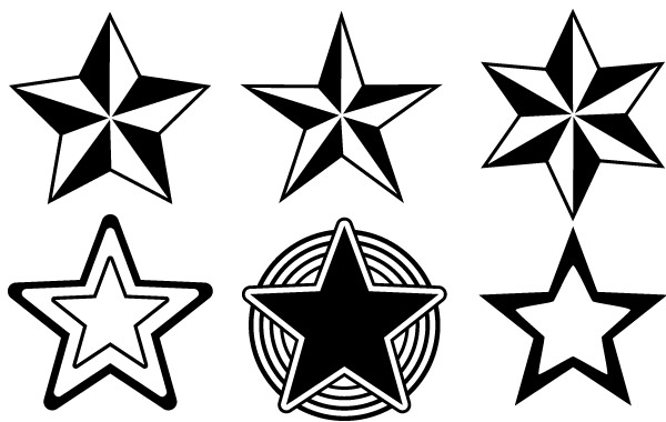 Free Random Free Vectors Part 13 Stars