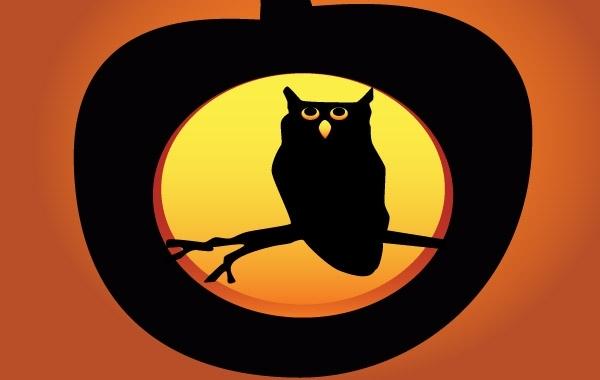 Free Halloween Owl Pumpkin