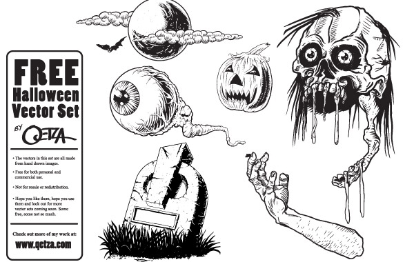 Free Free Halloween Vectors
