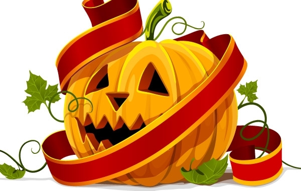 Free Vectors: Halloween pumpkin | BazaarDesigns
