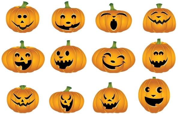 Free Free Halloween Vector Pumpkins