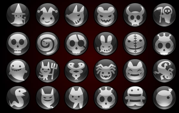 Free Vectors: Halloween icons | vectorlady