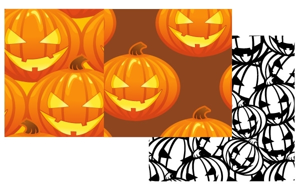 Free Free Vector Pumpkin Patterns Halloween Jack O Lanterns