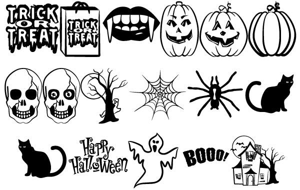 Free Vectors: Halloween Vectors Part 2 |  Freedesign