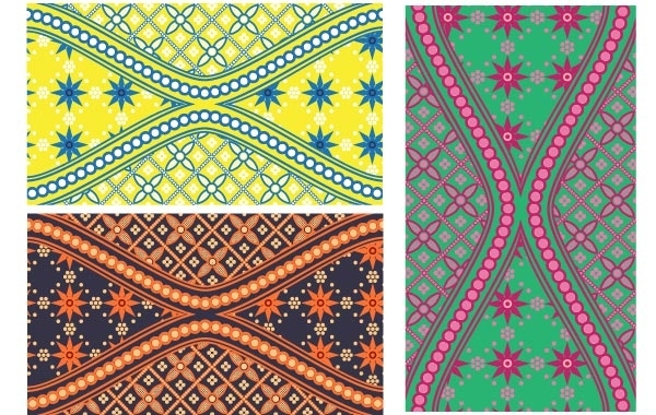 Free Batik is Beautiful Swatch