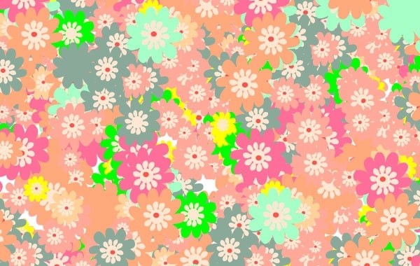 Free Floral colorful background
